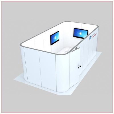 Trade Show Conference Room Rental Package C6 - Side View - LV Exhibit Rentals in Las Vegas