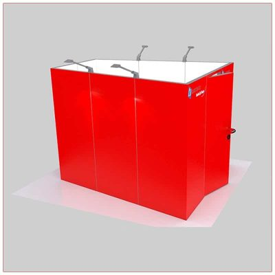 Trade Show Conference Room Rental Package C7 Side View - LV Exhibit Rentals in Las Vegas