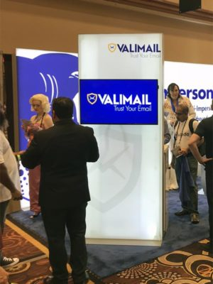 Trade Show Lightbox Kiosk Rental - Front - LV Exhibit Rentals in Las Vegas