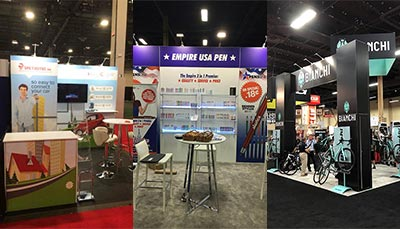 Trade Show Tips - Design for Different Booth Sizes