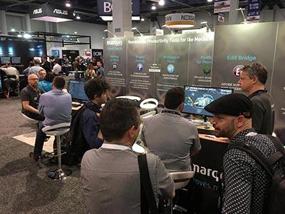 10x20 NAB 2019 - Marquis Broadcast - LV Exhibit Rentals in Las Vegas