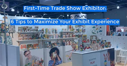 Maximize Your Exhibit Experience - 6 Tips for First-Time Exhibitors - LV Exhibit Rentals in Las Vegas