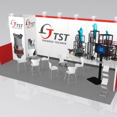 10x20 Trade Show Booth Rental Package 241 - LV Exhibit Rentals in Las Vegas