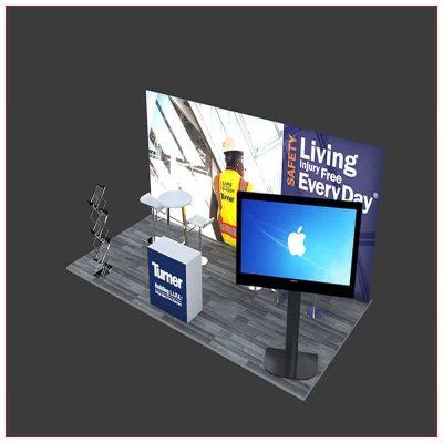 10x20 Trade Show Booth Rental Package 242 - LV Exhibit Rentals in Las Vegas