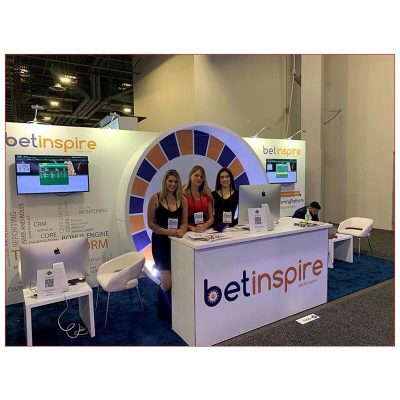 10x20 Trade Show Booth Rental Package 244 - Smiles by Design - LV Exhibit Rentals in Las Vegas