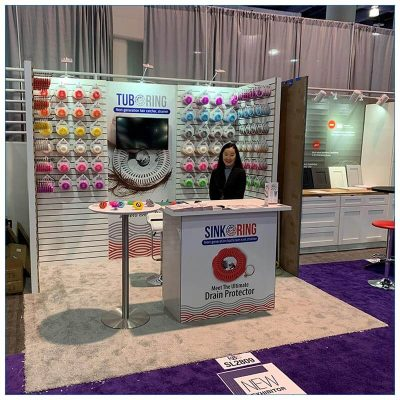 10x10 Trade Show Booth Rental Package 152 - KBIS 2020 - Smiles by Design - LV Exhibit Rentals in Las Vegas