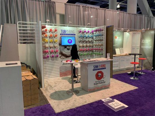 Dixie Bend - 10x10 Trade Show Exhibit Rental Package 152 - KBIS 2020 - LV Exhibit Rentals in Las Vegas