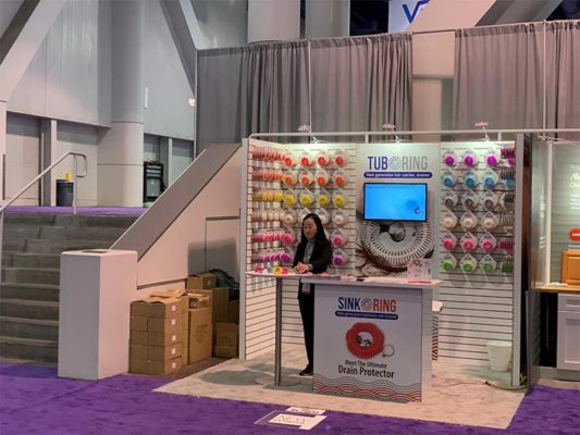 Dixie Bend - 10x10 Trade Show Exhibit Rental Package 152 - LV Exhibit Rentals in Las Vegas