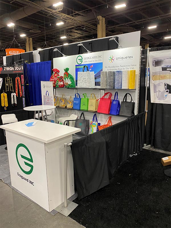 UniqueTex - 10x10 Trade Show Booth Rental Package 120 Upgraded - LV Exhibit Rentals in Las Vegas