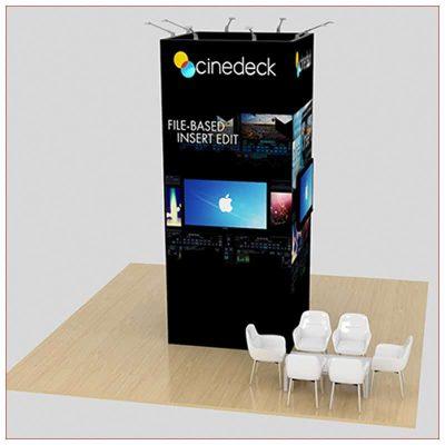 20x20 Trade Show Booth Rental Package 459 - LV Exhibit Rentals in Las Vegas