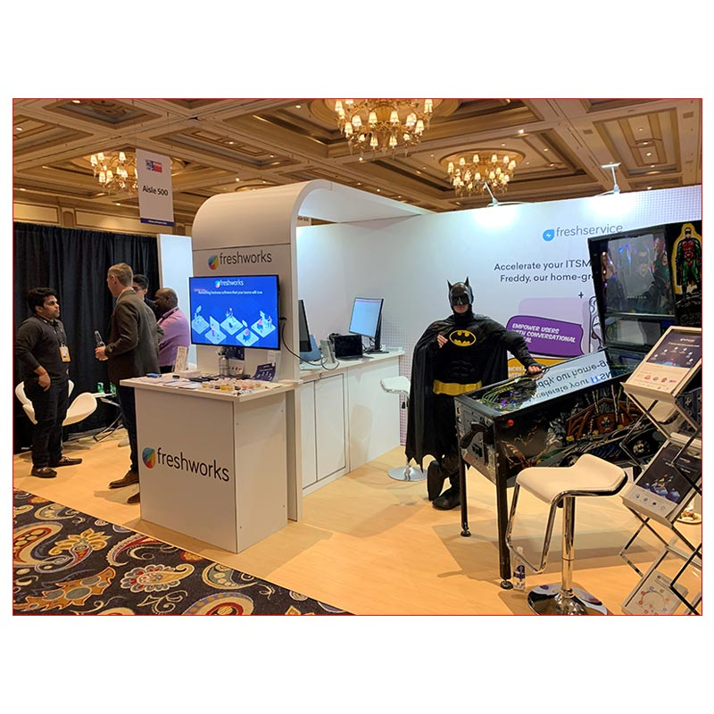 10x20 Trade Show Booth Rental Package 255 - LV Exhibit Rentals in Las Vegas