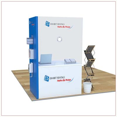 Covid 19 Prevention Counter Rental Package CV03 - LV Exhibit Rentals in Las Vegas