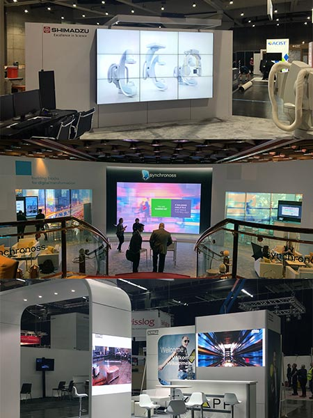 Three types of LED Video Walls - LV Exhibit Rentals in Las Vegas